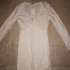 White Bodycon Tobi Dress